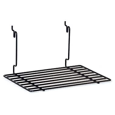 Flat Shelf, Black, 12