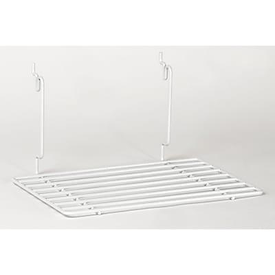Flat Shelf, White, 12