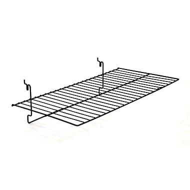 Flat Shelf, Black, 23-1/2