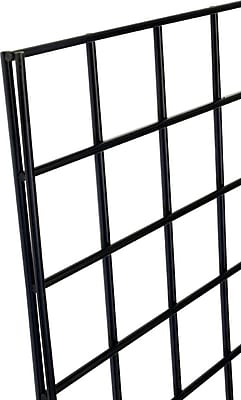 Gridwall Panel, Black, 2' X 6'