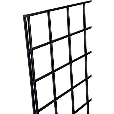 Gridwall Panel, Black, 2' X 8'