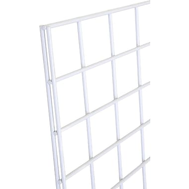 Gridwall Panel, White, 2' X 4'