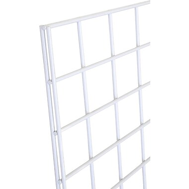 Gridwall Panel, White, 2' X 6'