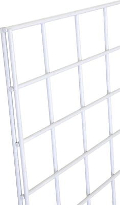 Gridwall Panel, White, 2' X 8'
