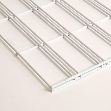 Slatgrid Panel, White, 2'X4'