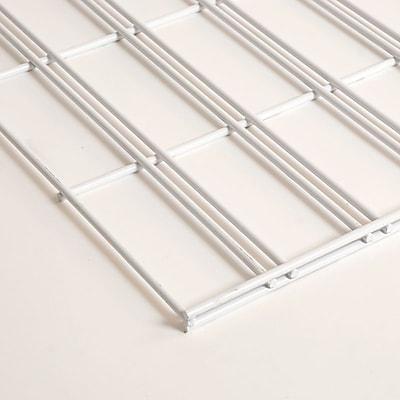 Slatgrid Panel, White, 2'X6'