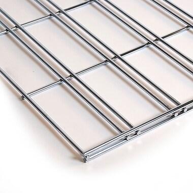 Slatgrid Panel, Chrome, 2'X8'