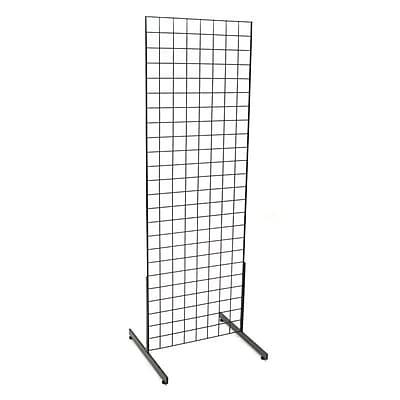Grid Unit W/ Legs, Black, 2' X 6'