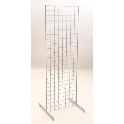 Grid Unit W/ Legs, White, 2' X 6'