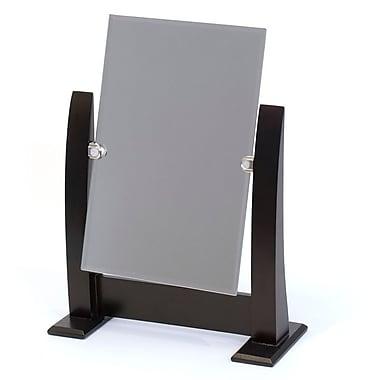 Counter Top Mirror, Dark Walnut, 10.5