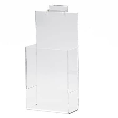 Slatwall Literature Holder, Acrylic