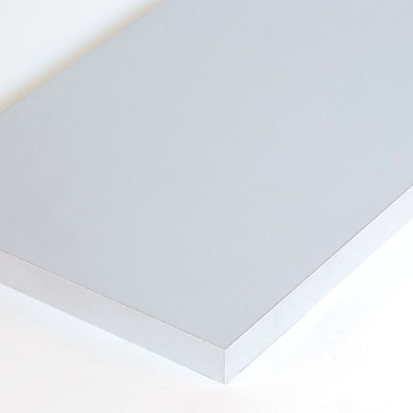 Melamine Shelf, Gray, 12