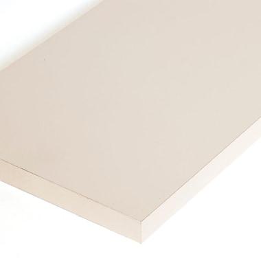 Melamine Shelf, Almond, 12