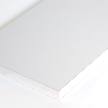 Melamine Shelf, White, 12