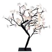 Simple Designs Lighted Decorative Cherry Tree, Black