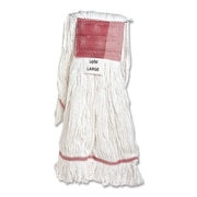 Genuine Joe GJO 48251 Cotton/Rayon Bristle Super Spread Mop Head, Large