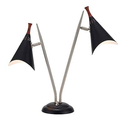 Adesso Draper Desk Lamp, Black (3235-01)