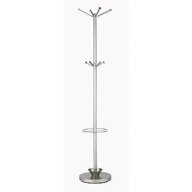 Adesso® Quatro Metal Umbrella Stand Coat Rack