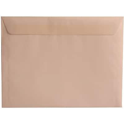 JAM Paper® 9 x 12 Booklet Envelopes, Translucent Vellum Clear, 1000/carton (2851371B)
