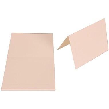 JAM PaperMD – A2 80 lb Cartes à plier Strathmore de 80 lb Papier vélin avec cadre, blanc brillant, paq/50