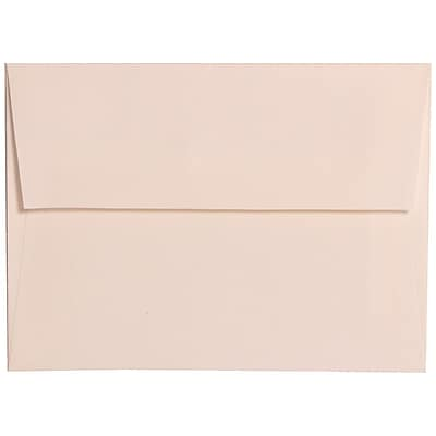 JAM Paper® A6 Invitation Envelopes, 4.75 x 6.5, Strathmore Bright White Linen, 1000/carton (3137B)