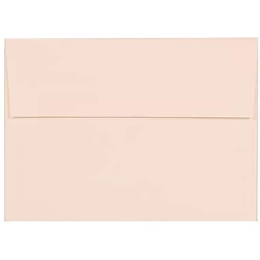 JAM Paper® A7 Invitation Envelopes, 5.25 x 7.25 Strathmore Bright White Linen, 100/Pack (191189g)