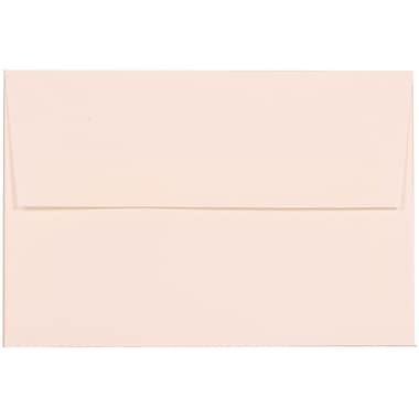 JAM Paper® A8 Invitation Envelopes, 5.5 x 8.125, Strathmore Bright White Linen, 100/Pack (40934g)