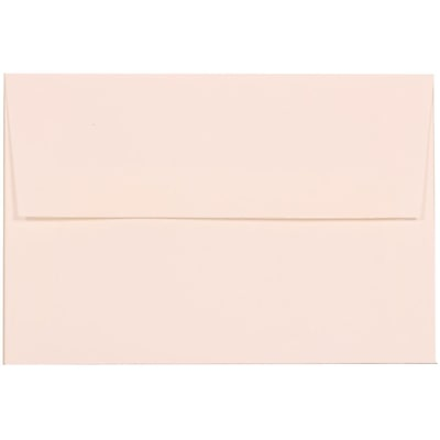 JAM Paper® A8 Invitation Envelopes, 5.5 x 8.125, Strathmore Bright White Linen, 25/pack (40934)