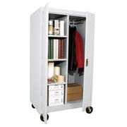"Sandusky® Elite 66"" x 36"" x 24"" Transport Mobile Combination Cabinet, Dove Gray"