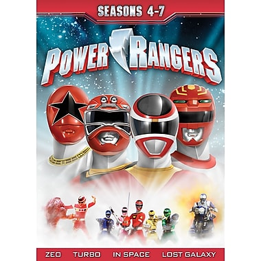 Mighty Morphin Power Rangers - Seasons 4-7 (DVD)