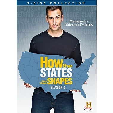 How the States Got Their Shapes Season 2 (DVD)
