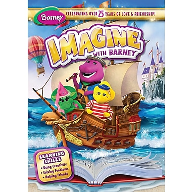 Barney: Imagine With Barney (DVD)