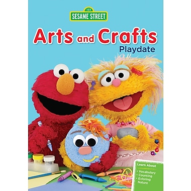 Sesame Street: Arts and Crafts Playdate (DVD)