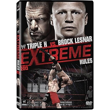 WWE 2013 - Extreme Rules 2013 - St. Louis, MI - May 19, 2013 PPV (DVD)