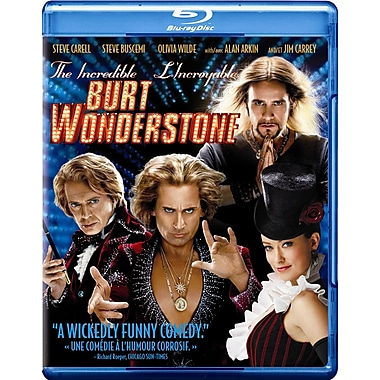 The Incredible Burt Wonderstone (Blu-Ray + DVD + UltraViolet + Digtial Copy)
