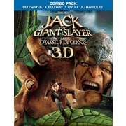 Jack the Giant Slayer 3D (3D Blu-Ray + Blu-Ray + DVD + copie numérique + UltraViolet)