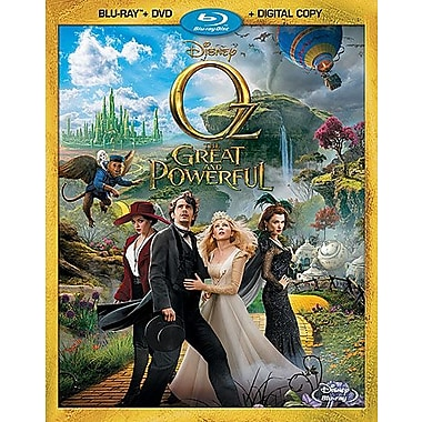 Oz The Great and Powerful (Blu-Ray + DVD + copie numérique)