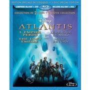 Atlantis: The Lost Empire/Atlantis: Milo's Return (Blu-Ray + DVD)