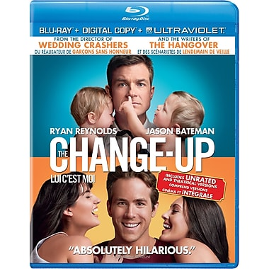The Change-Up (Blu-Ray + copie numérique + UltraViolet)