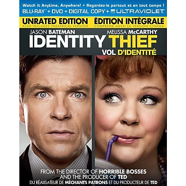 Identity Thief (Blu-Ray + DVD + copie numérique + UltraViolet)