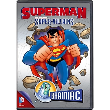 Superman Super Vilians: Brainiac (DVD)