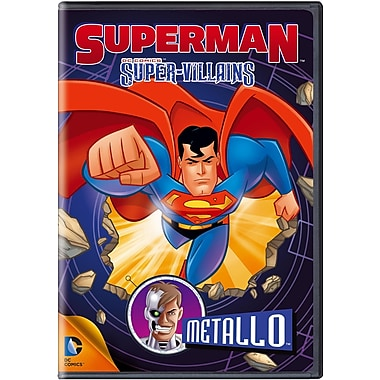 Superman Super Vilians: Metallo (DVD)