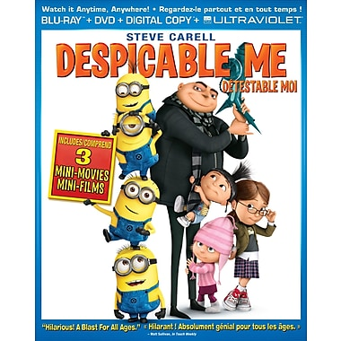 Despicable Me (Blu-Ray + DVD + copie numérique + UltraViolet)