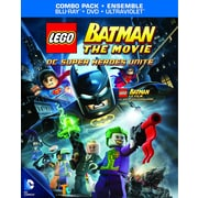 Lego Batman: The Movie DC Superheroes Unite, Blu-Ray, UltraViolet and Digtial Copy)