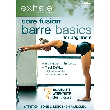 Exhale: Core Fusion - Barre Basics for Beginners (DVD)