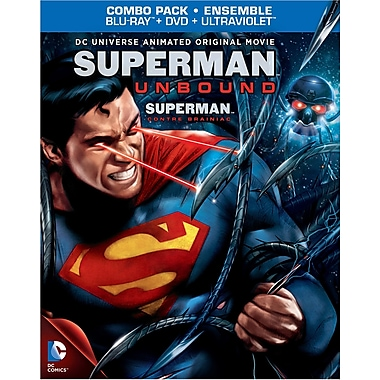 DCU: Superman: Unbound (Blu-Ray + DVD + UltraViolet + Digtial Copy)