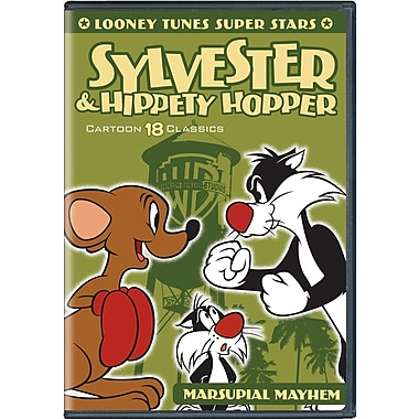 Looney Tunes Super Stars Sylvester and Hippety Hopper (DVD)
