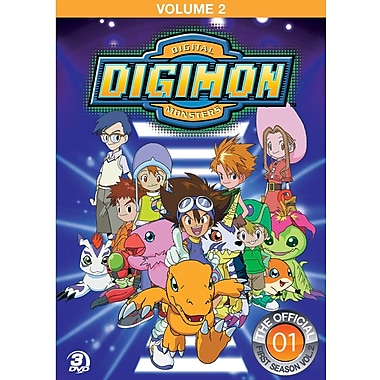 Digimon Adventure Volume 2 (DVD)