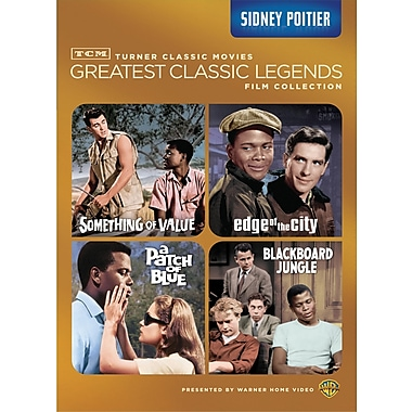 TCM Greatest Classic Films: Legends: Sydney Poitier (DVD)