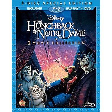 The Hunchback of Notre Dame 2 Movie Collection (Blu-Ray + DVD)